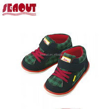 Wholesale Lovely hard sole kids baby wool fabric shoes