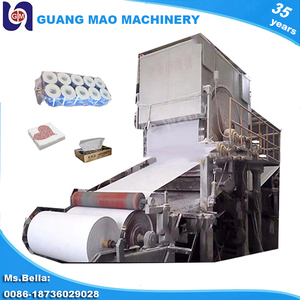 Small scale 787 rice straw paper making machine to make toilet paper roll,facial tissue,paper napkin