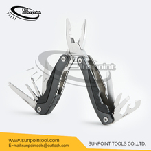 ABS+anodized aluminium handle combination plier Multi function hand tool of plier