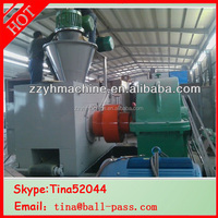 hydraulic/mechanical subbituminous coal briquette press