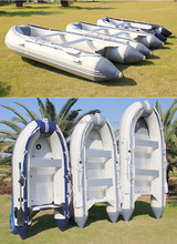 4.3m PVC Inflatable Boat For Water Leisure and Fishing Use