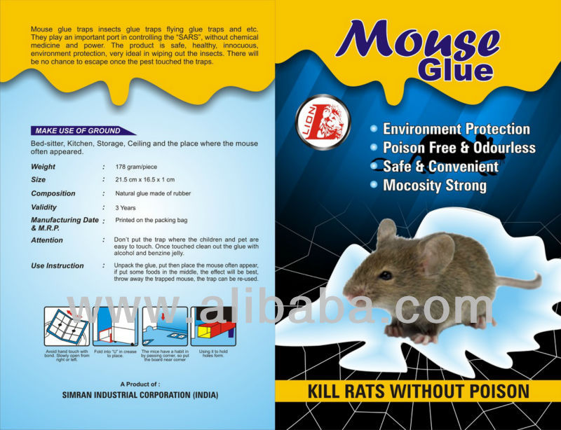Glue Rat Trap Model no.1963