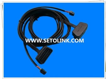 2014 HIGH QUALITY NEW RIGHT ANGLE FLAT OBD CABLE OBD 16 PIN MALE TO C3030 8PIN MALE CONNECTOR