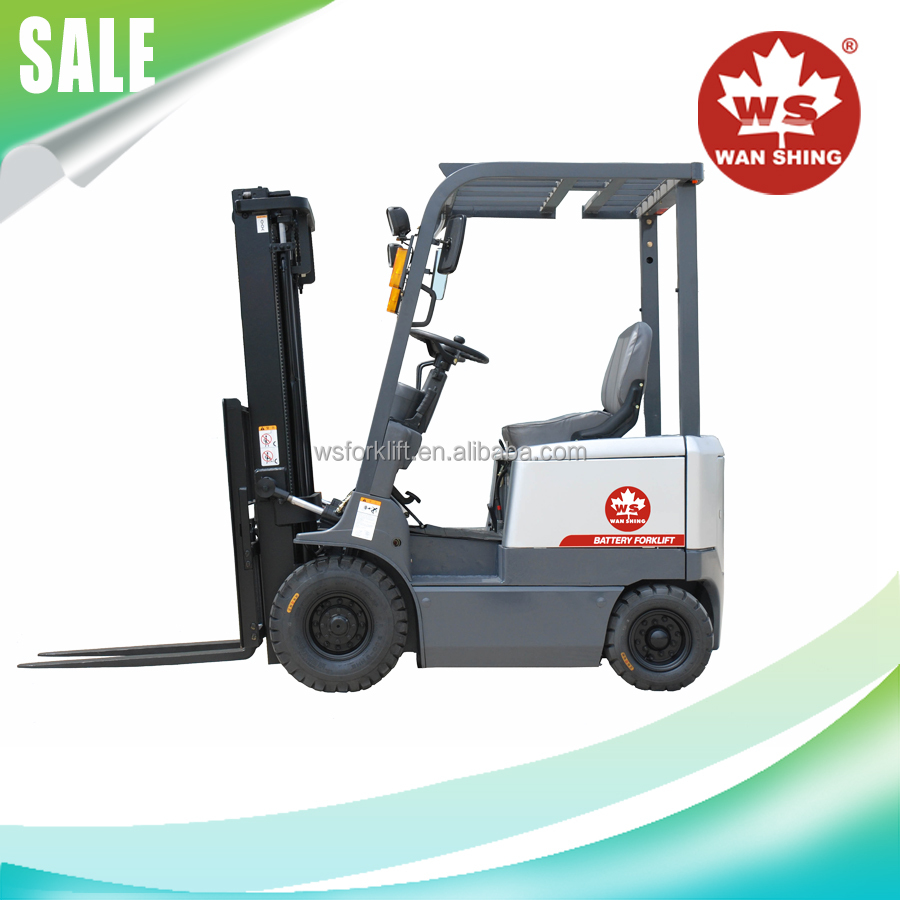 Popular 1.5-3 Ton Electric Forklift for Sale/AC motor curtis control