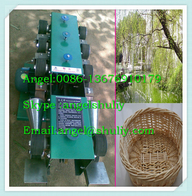Fresh osier peeling machine for making basket/wicker removing peel machine /Green willow peeler for knitting 0086 13676910179