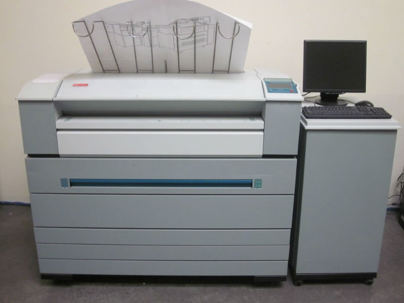 OCE TDS600 2 Roll wide format printer