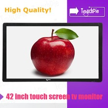 "Salable goods advertise display android tablet lg 42"" tv touch screen"