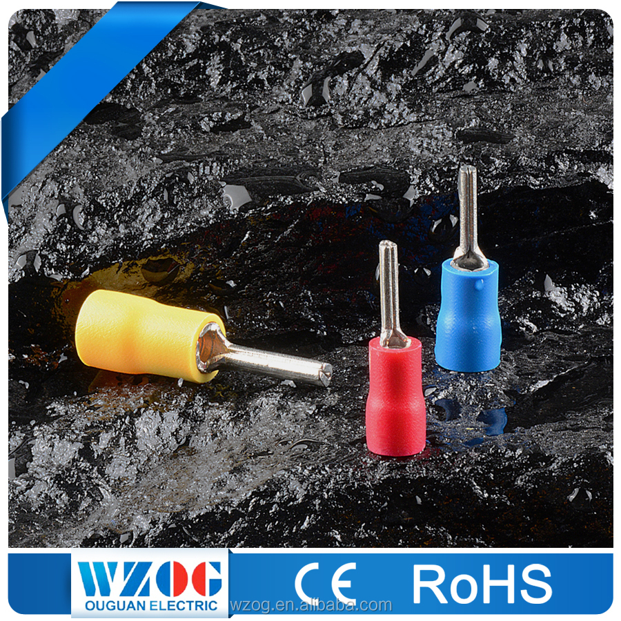 PTV CE ROHS Certificated Electric Tin Plated Insulated Pin Crimping Terminal Connector, Ford Automotive Connectors