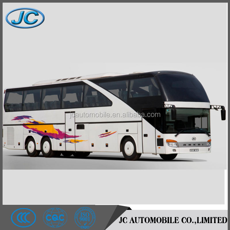 Bus color design 14M 3 axles luxury tour bus for sale