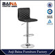 Leather seat chrome base swivel fashion bar chair supplier BN-1025