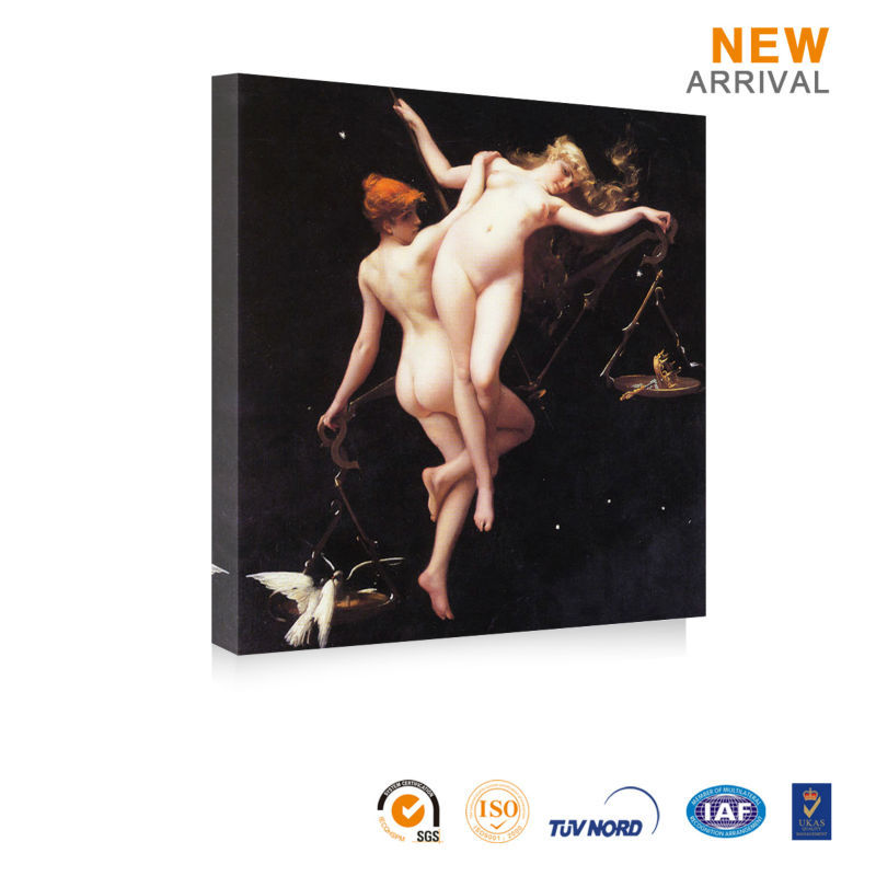 Home Decor Woman Nude Canvas Romantic Oil Painting