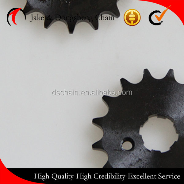 ZHEJIANG CHINA 1045 STEEL 40MN 428/120L-43T/14T motor chain and sprocket set tear and front teeth bajaj avenger