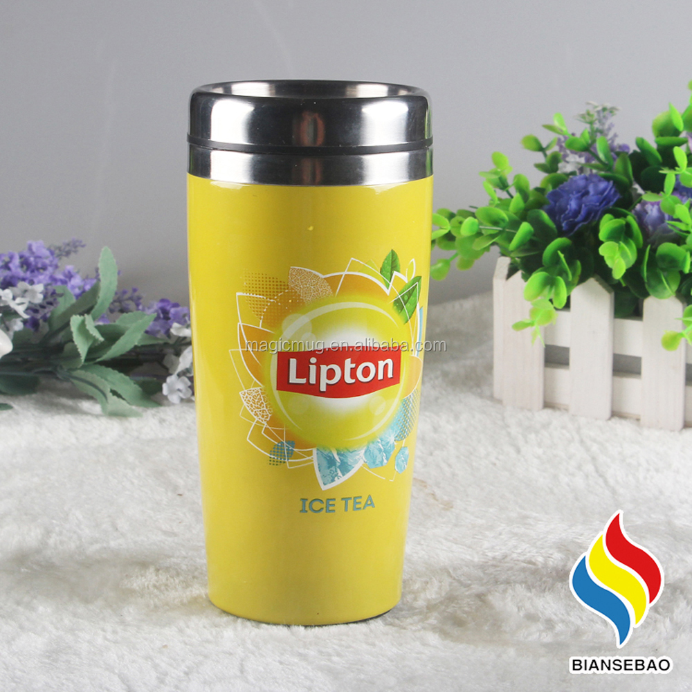 Lipton stainless steel cups for promotional gift