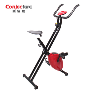 gym equipment exercise folding X exercise bike