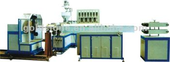 PVC wire steel hose production line
