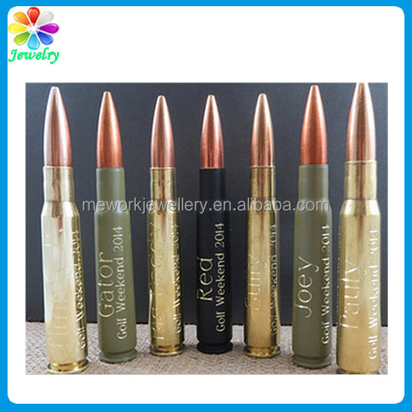 Real Army Used Bullet Shell Casing 50 Caliber Bullet Bottle Opener Run Out Fast