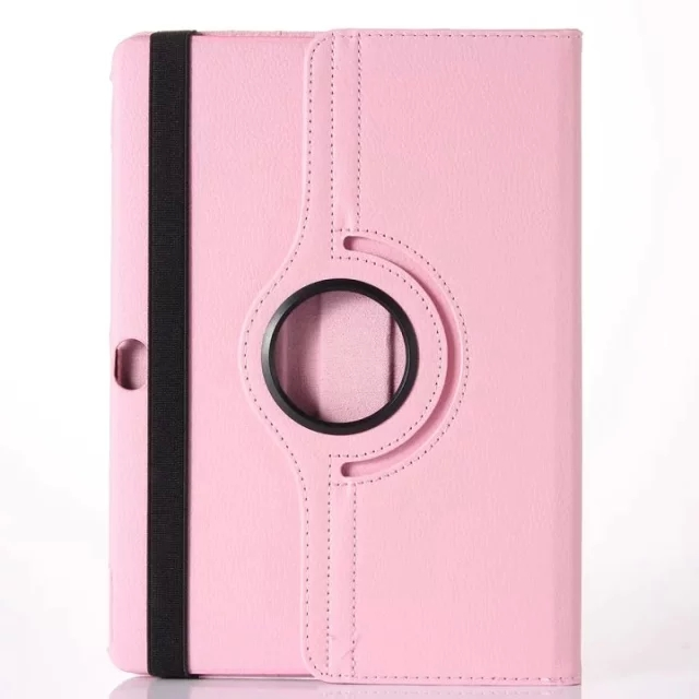 litchi grain rotating tpu leather hybrid mobile phone shell cover for huawei m2 10 inch case