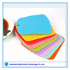 Cheap Price And Good Quality Promotional Giftes Food Grade Square Silicone Bar Coasters