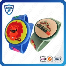 hot sell LF/HF/UHF ISO 14443/15693/ EPC Gen2 waterproof uhf rfid wristbands