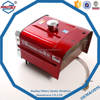EM170 high quality small plastic tractor water tank for trators