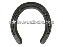 Forged zinc steel horseshoe