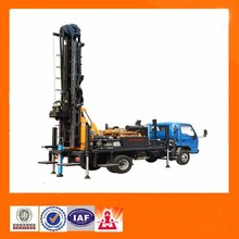 200m Depth tractor mounted water well drilling rig Machine to dig deep wells