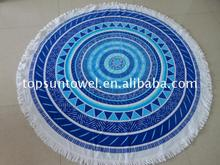 Manufacturer towel beach round