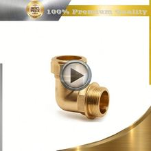 brass long stem ball valve