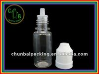 10ml plastic pet dropper bottle with needle tip