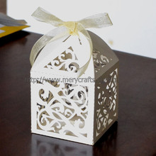 Elegant wedding decoration centerpieces/wedding favour boxes