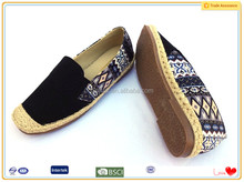 UK manchester latest wholesale espadrilles canvas shoes