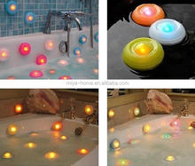 New design Led Lamp for Swimming Pool / colorful Floating Bathtub Lights / bathub led light