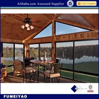 new design classical style aluminum sunroom windows