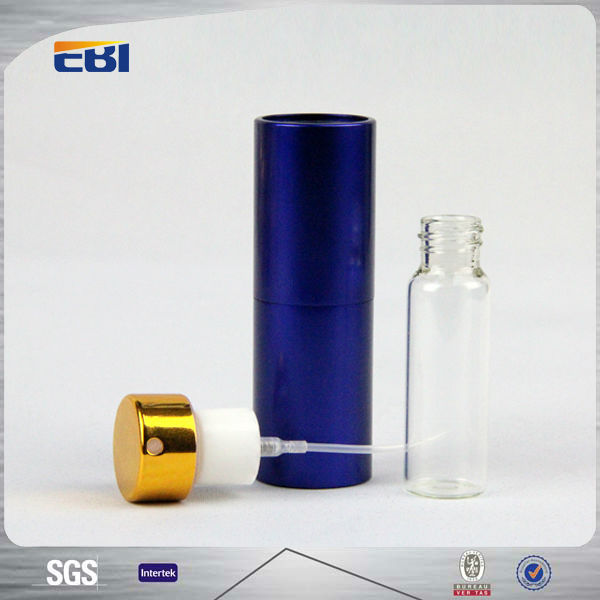 High quality perfume glass bottles with pump