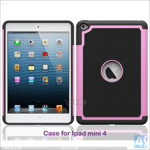 Shockproof Football Pattern 3in1 TPU Silicone Cover Case for Apple iPad Mini 4