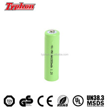 nimh aa 600mah 1.2v battery aa rechargeable battery 1.2v 600ma ni-mh high top type