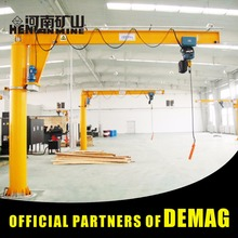 workstation pillar rotary arm jib crane 5 ton suppliers