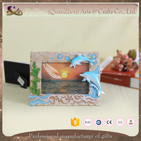 souvenir new design resin fancy picture frame