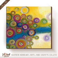 Shenzhen Dafen Wholesale High Quality Hand-painted Family Hotel Decor Wall Art Oil Painting Abstract