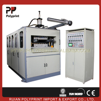 Full plastic cup making machine,plastic cup making machine price