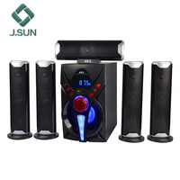 Professional 5.1 subwoofer BT mini speaker wireless home theater powered speakers