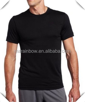mens Compression Moisture-Wicking Gym Athletic Sports Performance Exercise T-Shirt bulk wholesale