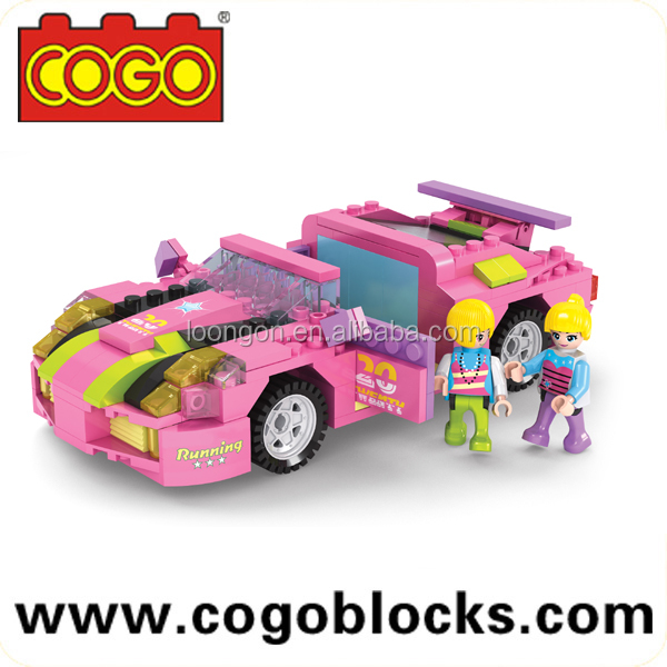 cogo blocks fashion girl building blocks with 256pcs building blocks toys