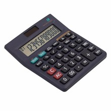 12 digits display 100 steps check calculator with tax function