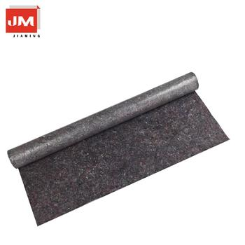 recycled ground protection mat dying flock material