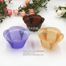 round shape flower paper muffin cup making machine ( europe type)