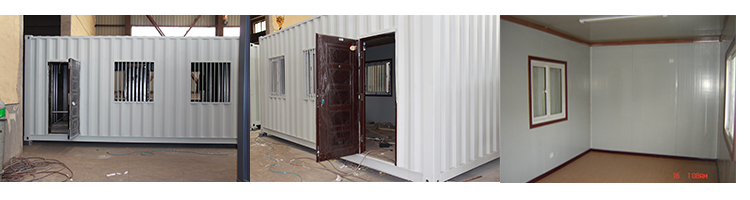 2015 New Design Diffefrent sizes shipping container house for sale