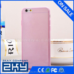Wholesale Custom Import 0.3mm Ultra Thin Slim Soft Fashion TPU Crystal Clear Mobile Phone Case For iPhone 6 ZKAIY-511H