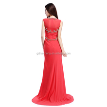 Factory Wholesale Evening Dress Saudi Arabia beaded Clothing for Ladies