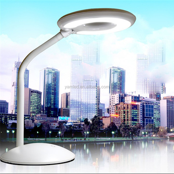 portable and flexible desk lamp led dimming touch lamp led